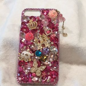 Other - I PHONE  PRINCESS COVER  WITH DUST BAG👸👸👸 NWOT